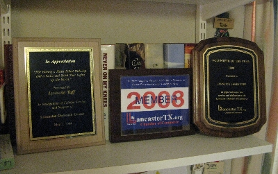 Awards in LLT's Office