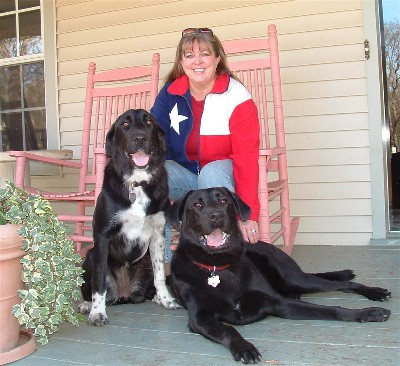Lynnette with Beatrix & Tucker