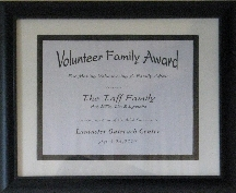 LOC Volunteer Family Award